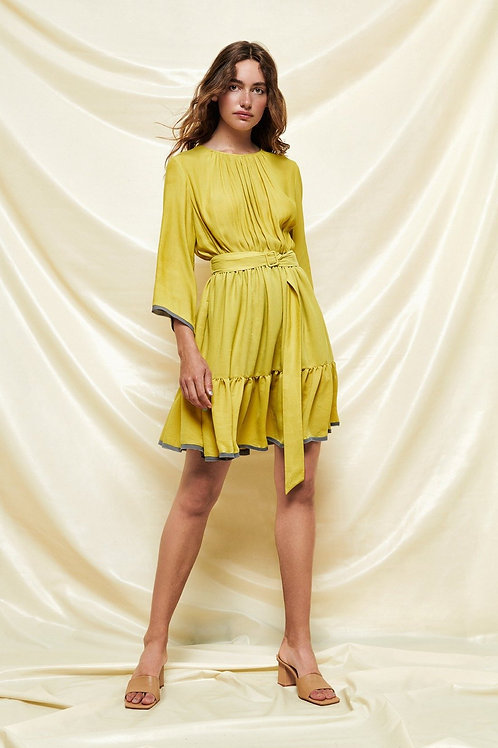 Short Gathered Dress