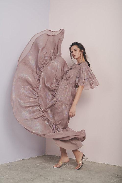 Tiered Long Dress