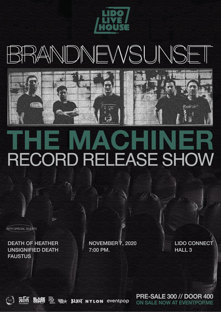 Brandnew SUnset 'The Machiner'