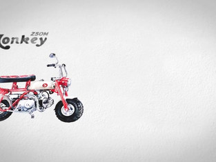 HONDA Super Cub C100 & Monkey Z50M
