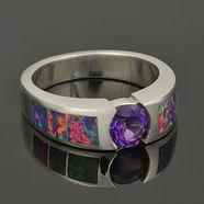 Women's Lab Opal Rings