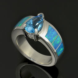 Pear topaz and lab opal ring.jpg
