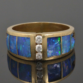 Yes, We Do Lab Opal Ring Repair!