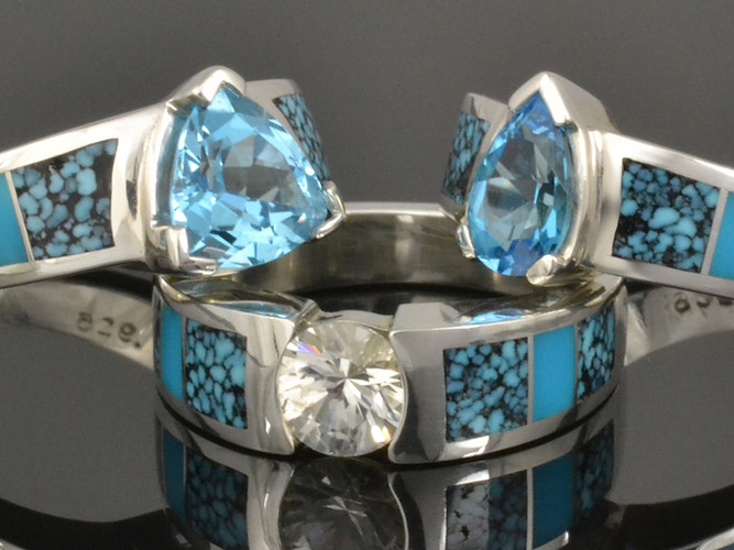 Turquoise Engagement Rings