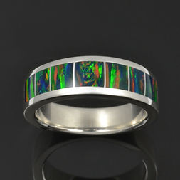 Lab Opal Wedding Band M206.jpg