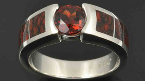 If You Like Red, This Dinosaur Bone Ring is For You