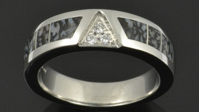 Upgrade to a Platinum Dinosaur Bone Ring