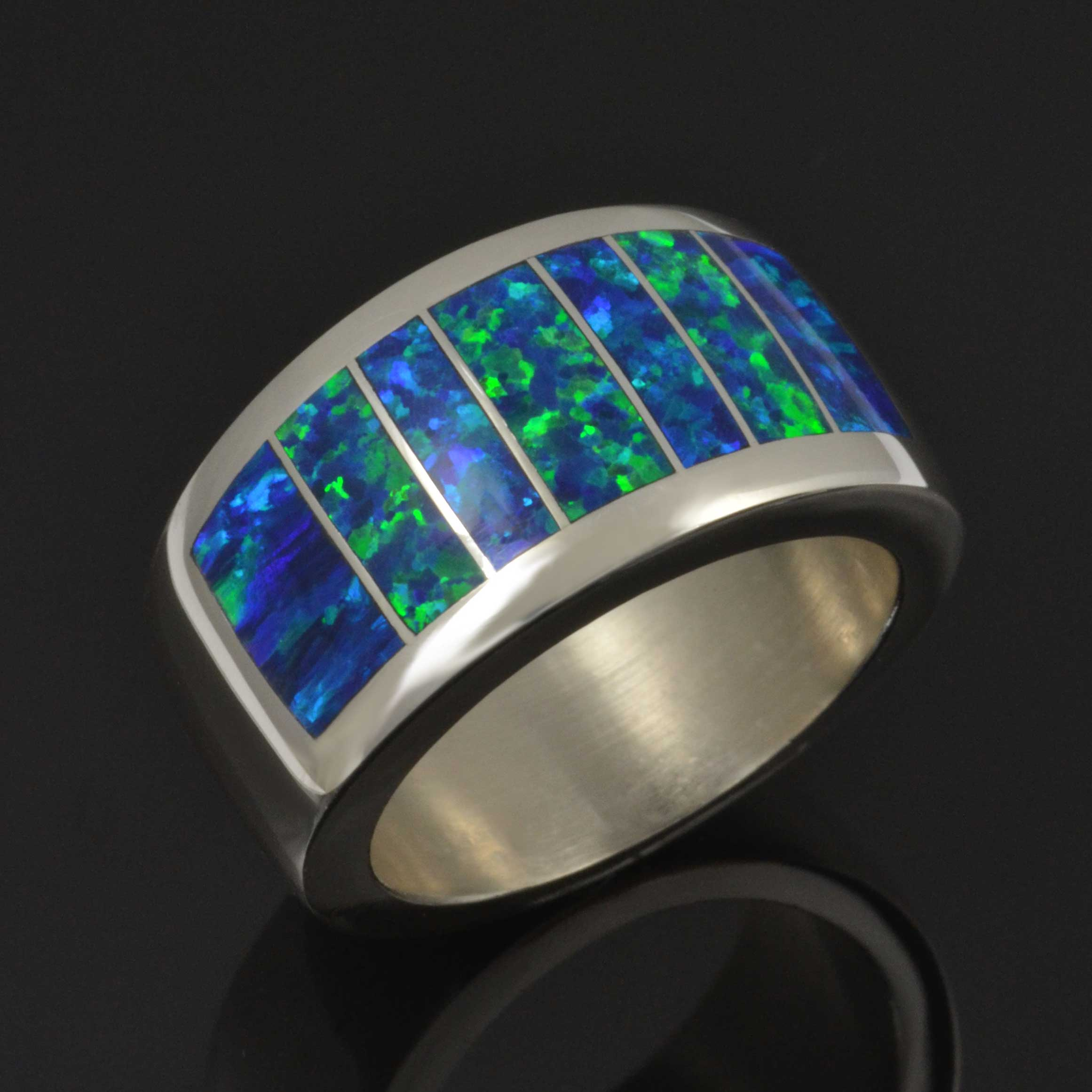 Lab Opal Ring by Hileman