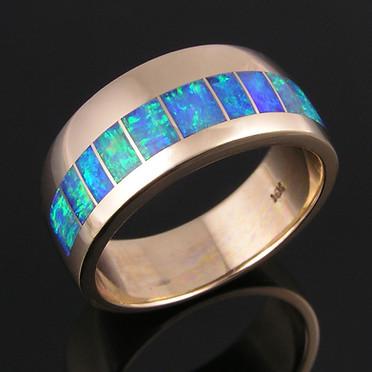 Man's Opal Ring