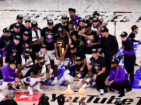 The Purple and Gold Standard: How the Lakers Captured the 2020 NBA Title