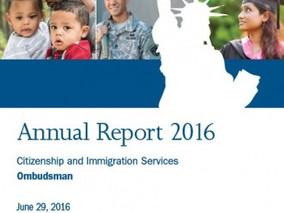 USCIS CIS Ombudsman's 2016 Annual Report