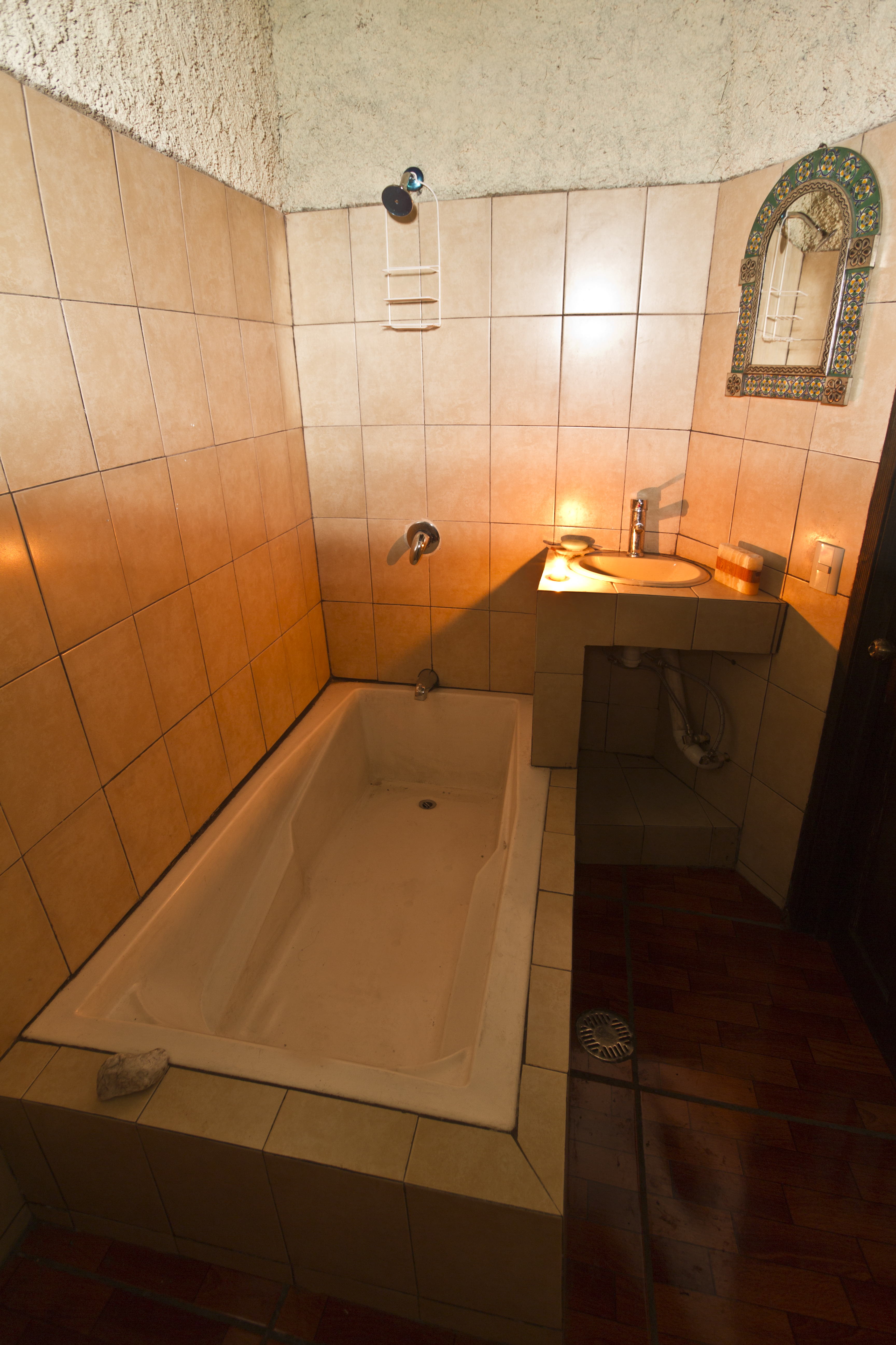 Bañera y agua caliente