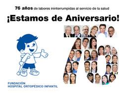 76 Aniversario de la Fundación Hospital Ortopédico Infantil