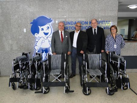 Donación de Sillas de la Cámara de la Industria Farmacéutica (CIFAR)