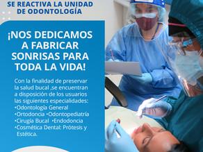 La Unidad Odontológica del Hospital Ortopédico Infantil ya se encuentra activa nuevamente