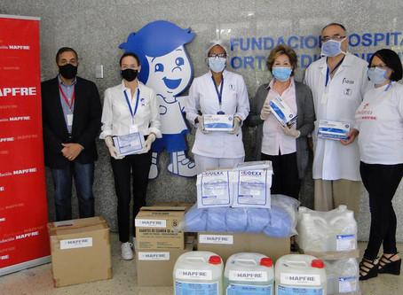 Fundación Mapfre hace entrega de donativo al Hospital Ortopédico Infantil