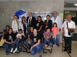 Fundación Frigilux de la mano de nuestros pacientes