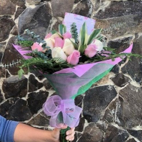 Ramo Bonnet 24 Rosas