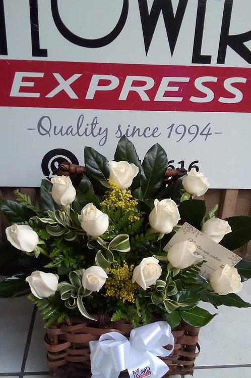 Cofre de Rosas Condolencias