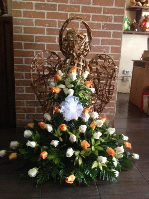 Ángel de 48 Rosas