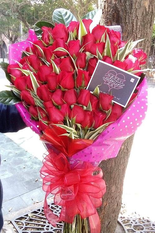 Ramo Princesa 60 Rosas