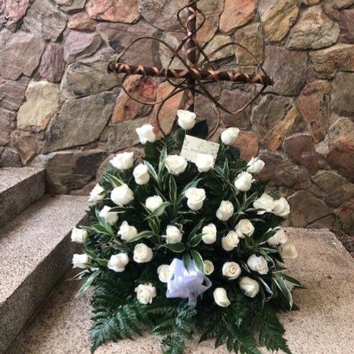 Cruz de 36 Rosas