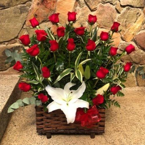 Cofre 24 Rosas y Lirios