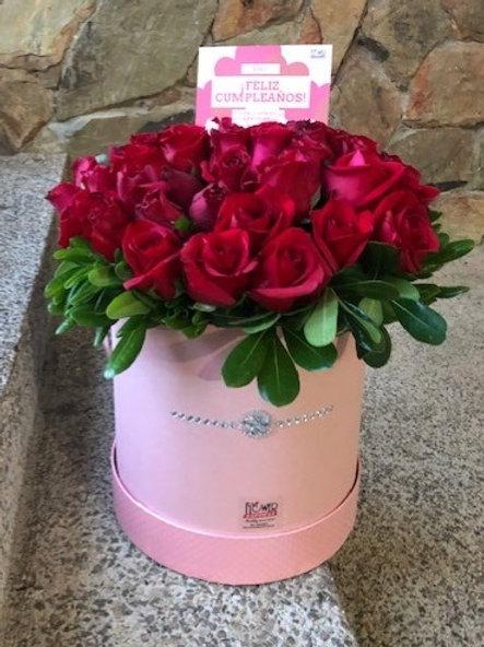 Caja Pink Pearl - Tall