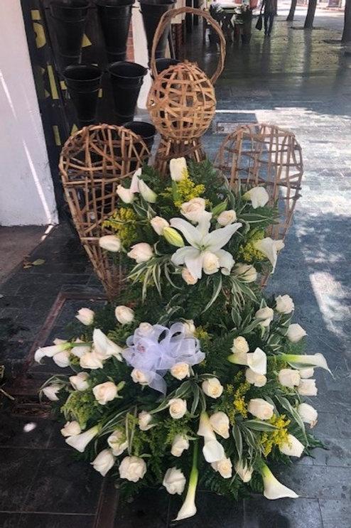 Ángel de 50-55 Flores