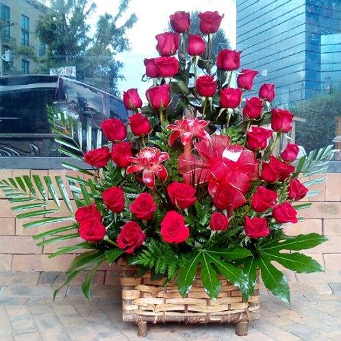 Cofre de Rosas Stylisé