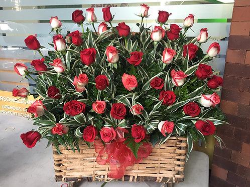 Cofre 48 Rosas