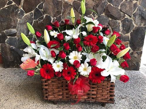 Cofre de 60 Flores
