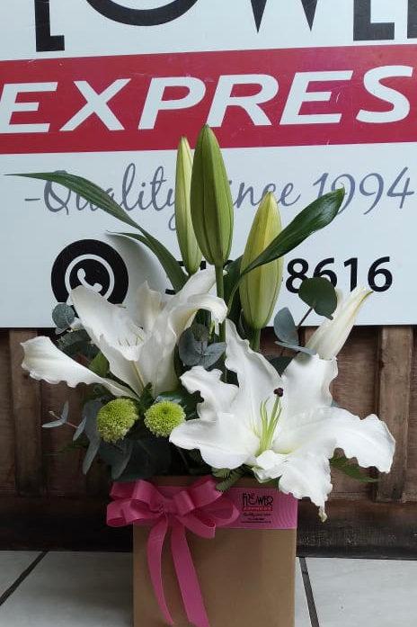 Caja Surprise Lilies