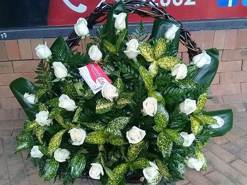 Corona de 24 Rosas