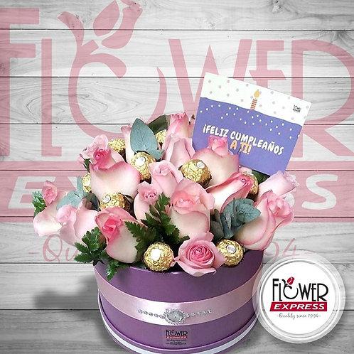 Caja Violet Ferrero 24R
