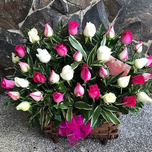 Cofre de 36 Rosas