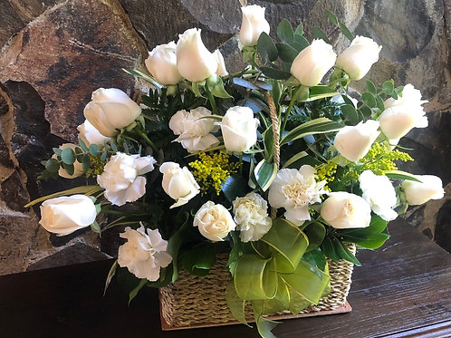Canasta Parisina 36 Flores