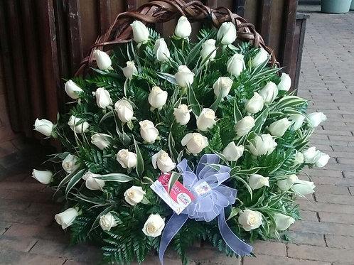 Corona de 48 Rosas