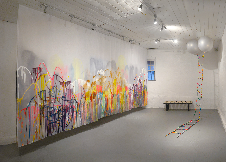 Erin Galvez -Exhibition Installation
