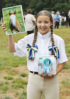 Community Horse Youth Award Winner