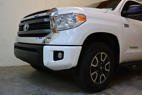 Front Bumper Chrome Delete Wrap 14-20 Tundra