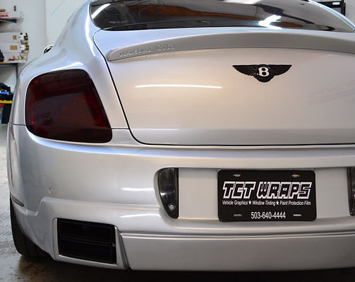 TCT Wraps tail light tinting