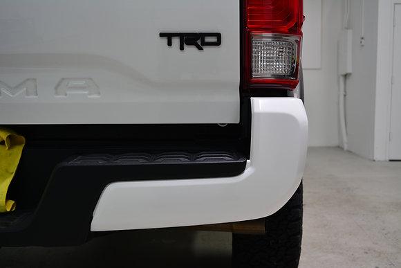 Toyota Tacoma Rear Bumper Chrome Delete 2016-2020