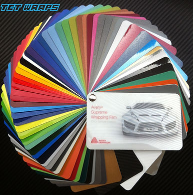 TCT Wraps Avery Dennison colors