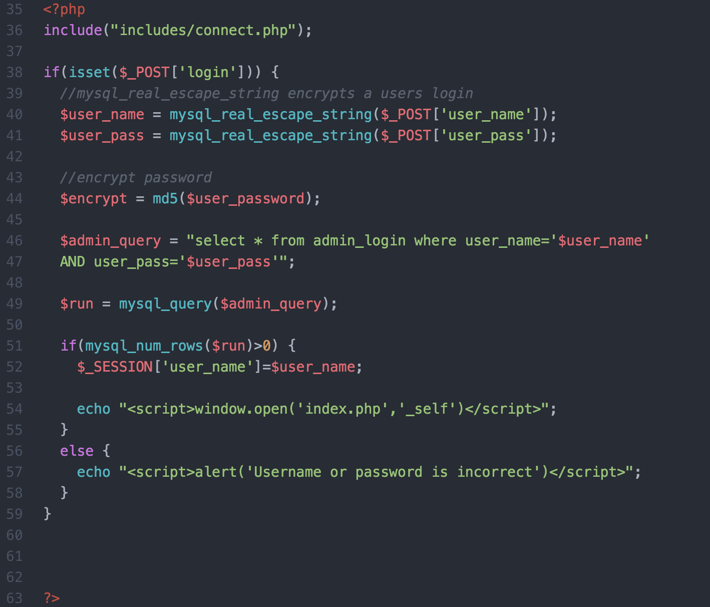Php authentication: password hashing (10/30) youtube.