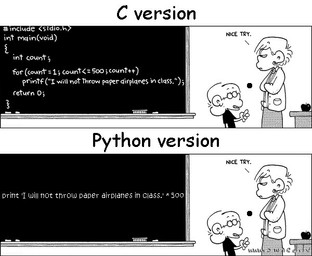 C vs. Python: Speed