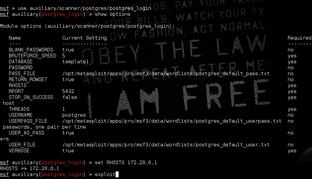 Hacking Postgresql Database using Metasploit