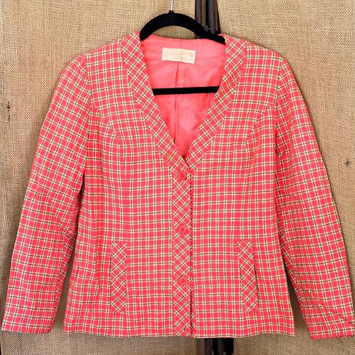 Vintage Pink Pendelton Jacket