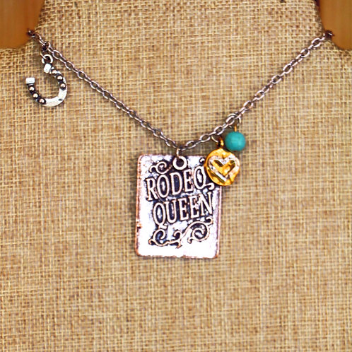 Tri-Color Rodeo Queen Necklace