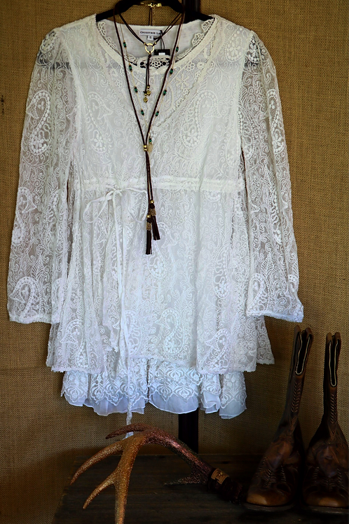 White Lace Dress/Tunic